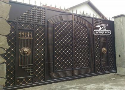Кованые ворота Краснодар - Кузница Юга