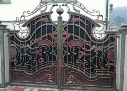 Кованые ворота Новороссийск