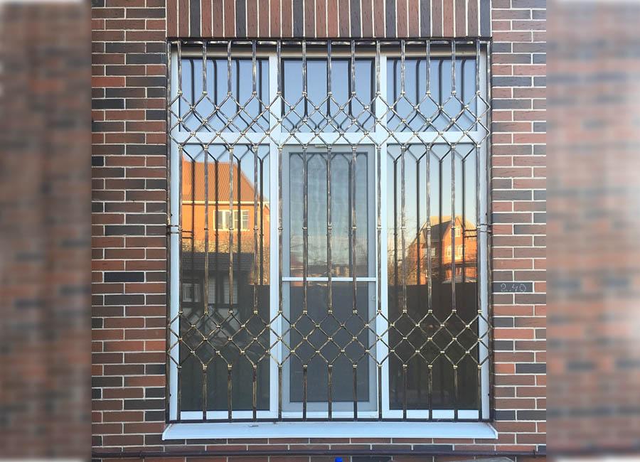 Современные решетки на окна внутри фото