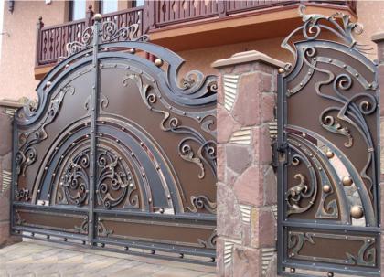 кованые ворота сочи