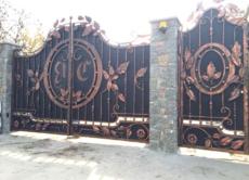 Кованые ворота Краснодар (kv-52)