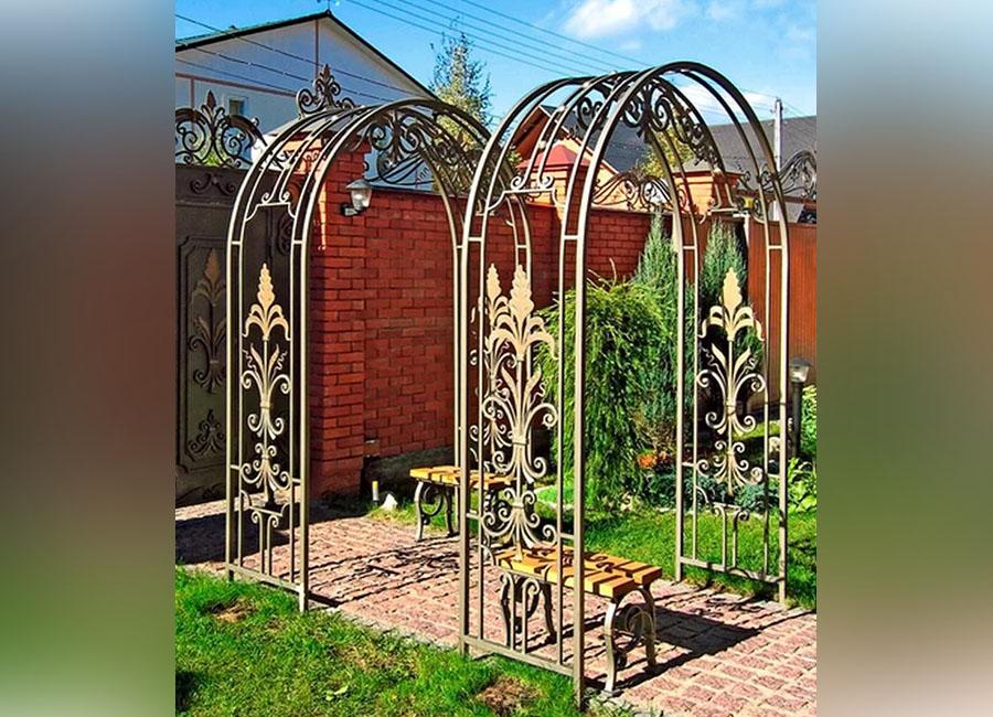 работа кованые садовые арки фото когда любим, жизнь