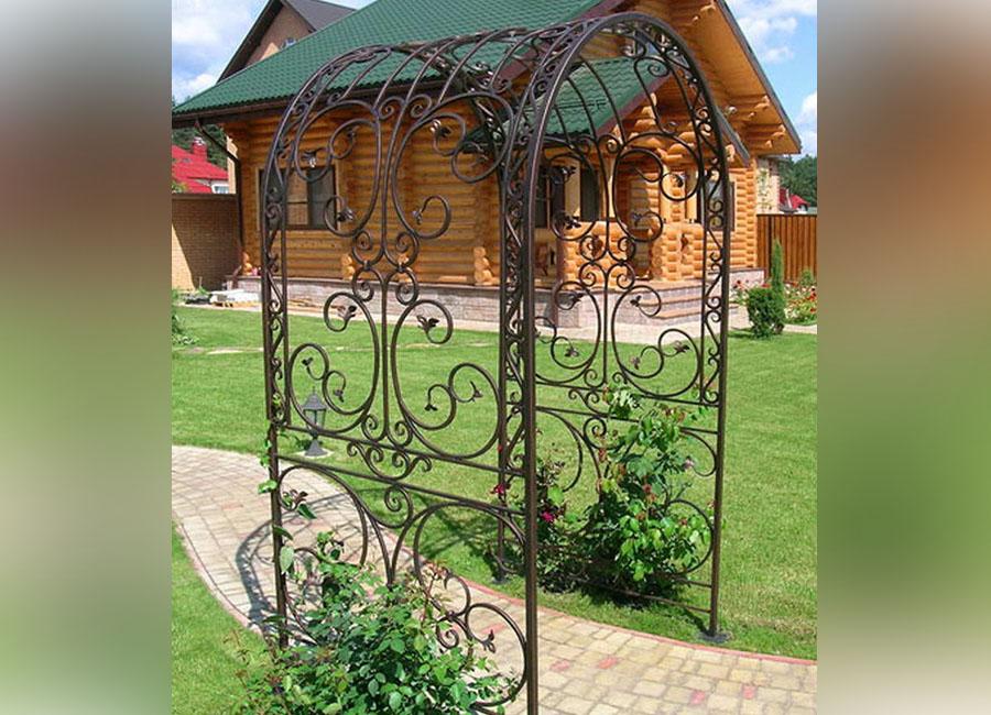 изготовлением садовых кованые садовые арки фото отличие других