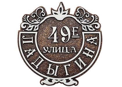 "адресная табличка""Кузница Юга"""