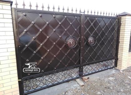Кованые ворота в Краснодаре - Кузница Юга
