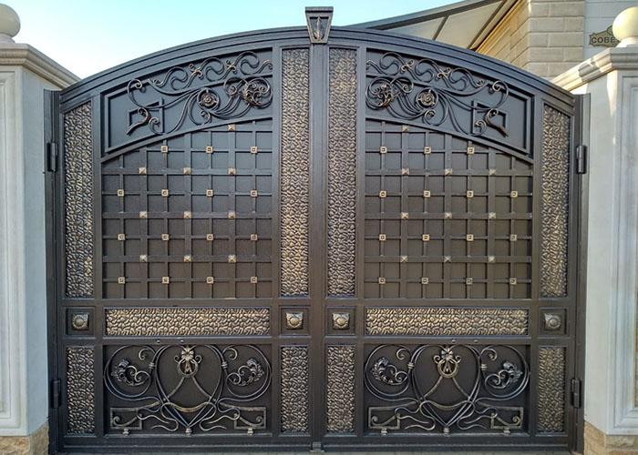 Кованые ворота Кущевская